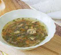 Zupa gryczana z pieczarkami: oryginalny pomysł