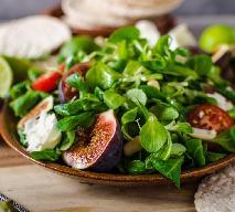 Figi: przepis na sałatkę z fig i sera koziego
