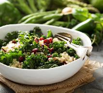 Kasza z jarmużem - przepis na szybki i zdrowy obiad