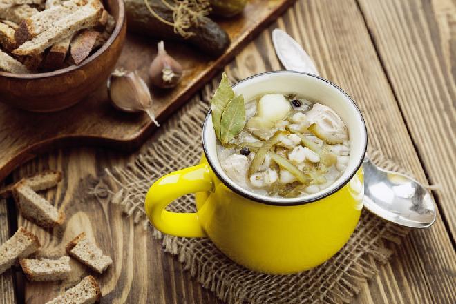 Rosolnik: rosyjska zupa ogórkowa NA KACA