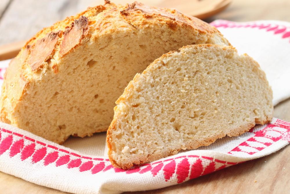 Chleb sodowy na bazie maślanki