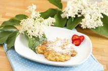 Kwiaty czarnego bzu w cieście - przepis na jadalne kwiaty