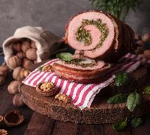 Rolada schabowa ze szpinakiem - smaczne i soczyste mięso na obiad
