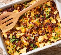 Meksykańska zapiekanka z mielonego mięsa i fasoli: dietetyczny przepis