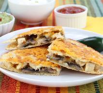 Quesadillas z kurczakiem i pieczarkami: doskonała przekąska na ciepło