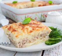 Przepyszna zapiekanka z tartych ziemniaków i mięsa mielonego: łatwy przepis na pychotę [GALERIA ZDJĘĆ]
