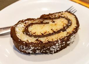 Rolada kokosowo-czekoladowa czyli zrolowane BOUNTY bez pieczenia