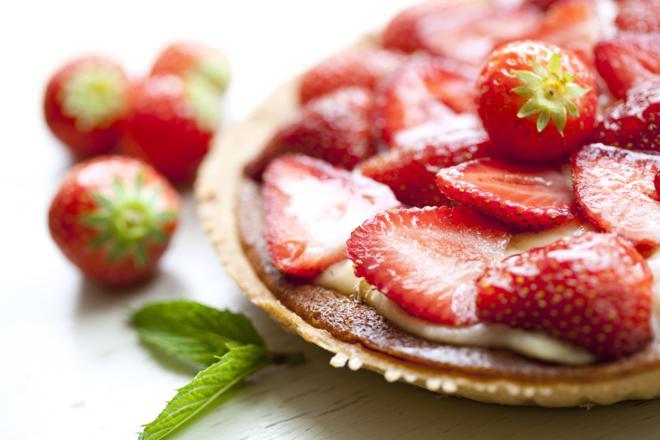 Ciasto truskawkowe z kruszonką - sprawdzony przepis