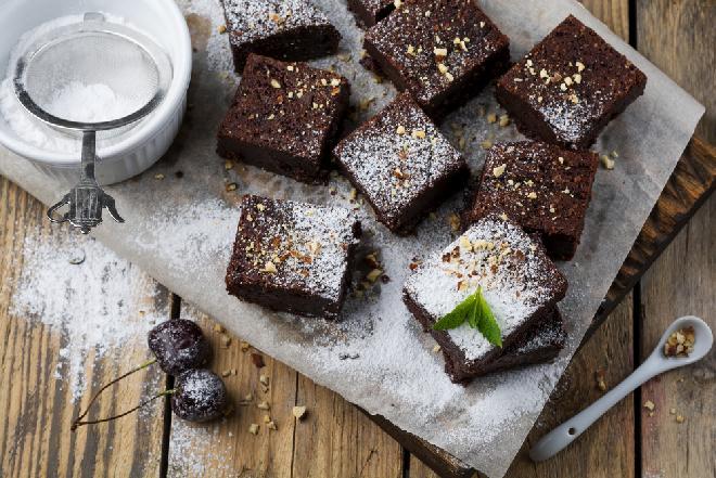 Brownie bez glutenu i bez mleka - deser dla alergików